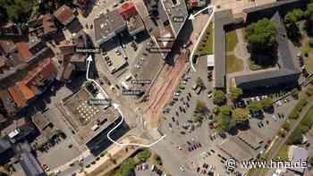 Uferstraße Frankenberg: Fußgänger suchen Weg aus Baustelle - HNA.de