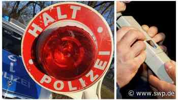 Polizei Pfullingen Ursulabergtunnel: Ohne Motorhaube unterwegs - dafür mit 3,5 Promille - SWP