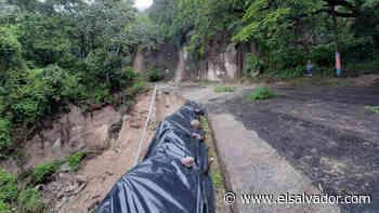 Obras Públicas y Alcaldía de Ilopango acuerdan cerrar la carretera a Apulo - elsalvador.com