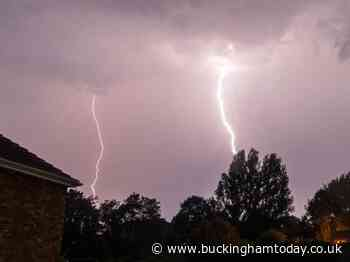 Thunderstorms including lightning strikes to hit Bucks from this afternoon - Buckingham Advertiser