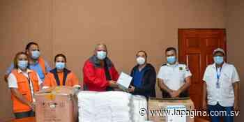 Alcalde de Sonzacate continúa entregando insumos a médicos y enfermeras - Diario La Página