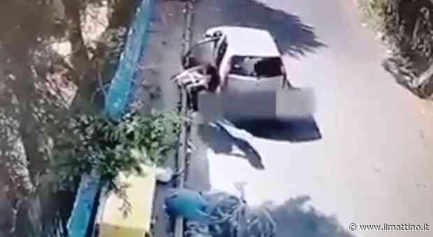 Frattamaggiore, scaricano rifiuti in strada: incastrati dalle telecamere - Il Mattino
