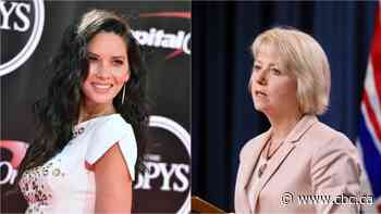 Dr. Bonnie Henry is taking over Hollywood actress Olivia Munn's social media accounts for a day