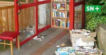 Stadthagen: Bücherschrank entwickelt sich während Corona zu Müllkippe - Schaumburger Nachrichten
