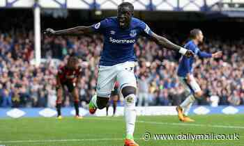 Everton striker Oumar Niasse to leave for NOTHING after arriving for £13.5m