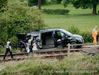 Investigations continue into Welshpool train and van crash - shropshirestar.com