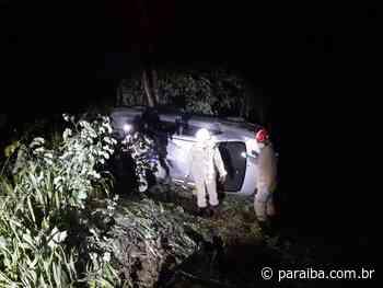 Cinco pessoas ficam feridas em acidente de carro na saída de Guarabira - Portal PARAIBA.COM.BR - Paraiba.com.br