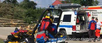 Bergwacht Grassau rettet Urlauber mit schwerer Fußverletzung - Traunsteiner Tagblatt
