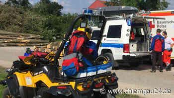 Rottauer Tal: Bergwacht Grassau rettet Urlauber (70) - Verletzung bei Abstieg von Hefteralm - chiemgau24.de