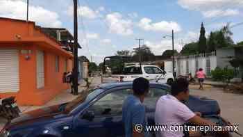 Un grupo armado ejecuta a regidor de Ecología en Loma Bonita - ContraRéplica
