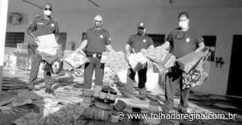 Policiais municipais e civis apreendem 677 pipas em Birigui; multa é de R$ 3.542,70 - Folha da Região