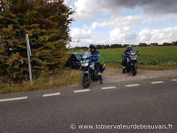 Course-poursuite : il refuse un contrôle à Bresles, mais finit par se rendre à l'entrée de Clermont - L'observateur de Beauvais