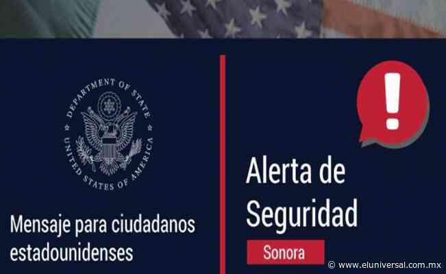 Prohíbe EU a sus funcionarios transitar por carretera que pasa por Caborca, Sonora | El Universal - El Universal