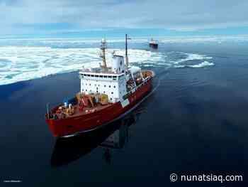 Icebreaker expected in Iqaluit on Friday - Nunatsiaq News