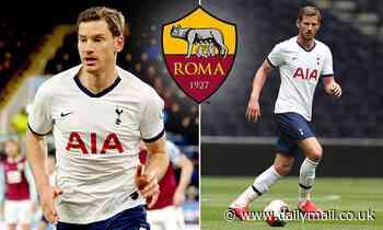 Tottenham defender Jan Vertonghen hints at summer exit as free transfer to Roma edges closer