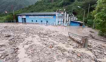 Cajamarca: Huaico destruye central hidroeléctrica en Celendín - radio andina chota