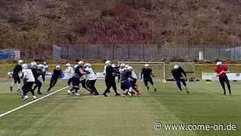 American Football Lüdenscheid Lightnings Training - Meinerzhagener Zeitung