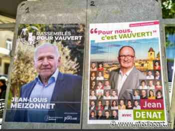 A Vauvert, le RN joue la carte du médecin de campagne face au baron PS - Mediapart