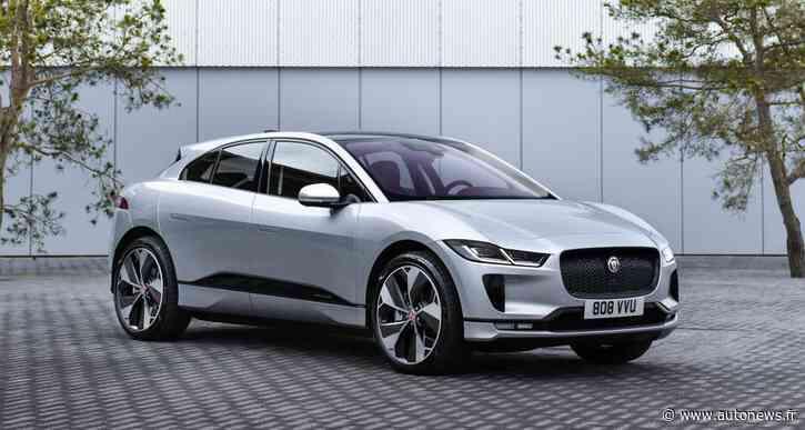Jaguar I-Pace : le SUV britannique entame sa mue technologique - Autonews