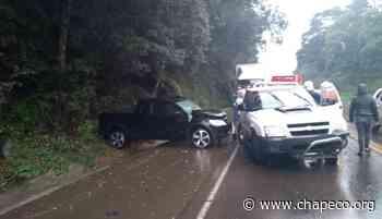 Acidente envolve três veículos na SC-355 entre Fraiburgo e Videira - Chapeco.Org