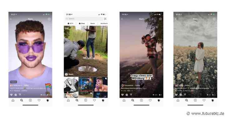 "Instagram Reels Feed vs. TikTok ""Für Dich""-Feed"