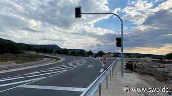 Verkehr B28 Dettingen und Metzingen: Schlössleskurve wird Freitag geöffnet - SWP
