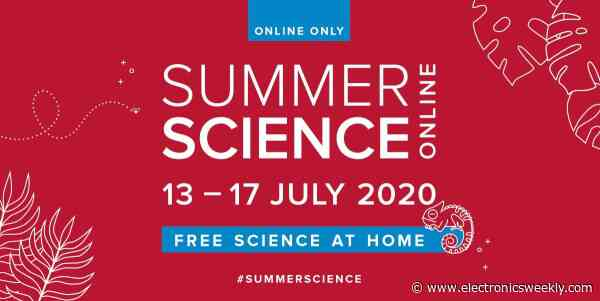 Royal Society takes its Summer Science Exhibition online
