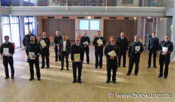 Freiwillige Feuerwehr: Beförderungen und Anerkennungsprämien für die Einsatzkräfte - Bruchköbeler Kurier