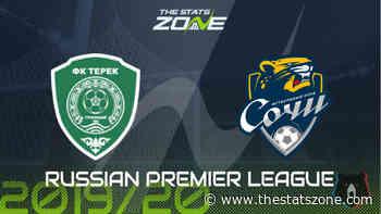 2019-20 Russian Premier League – Akhmat Grozny vs Sochi Preview & Prediction - The Stats Zone