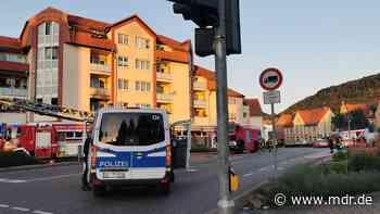 Wohnungsbrand in Heiligenstadt: Zwölf Menschen in Sicherheit gebracht - MDR