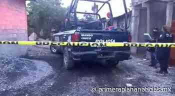 A machetazos mata a su esposa en Uruapan - Primera Plana Noticias