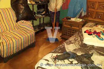 Lluvias afectan varias colonias de Uruapan - La Voz de Michoacán