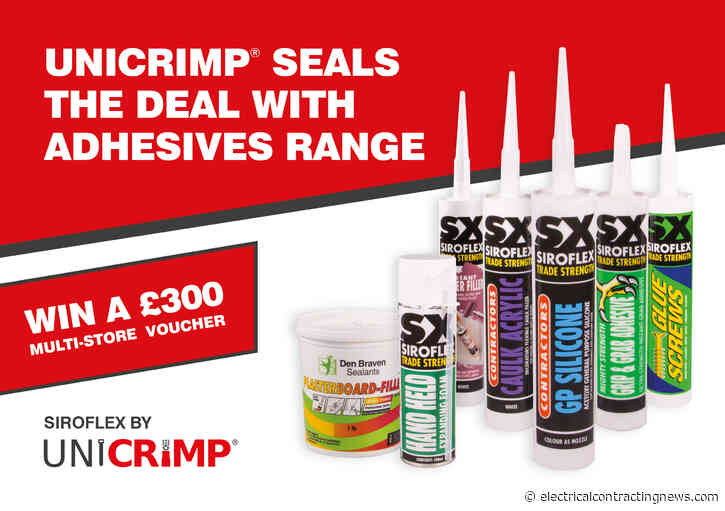 Unicrimp Seals The Deal With Adhesives Range