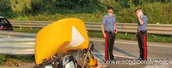 Nembro, si schianta contro spartitraffico Grave motociclista di 56 anni - L'Eco di Bergamo
