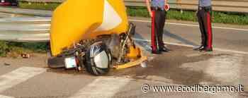 Nembro, moto contro spartitraffico Molto grave un uomo di 59 anni - Foto - L'Eco di Bergamo