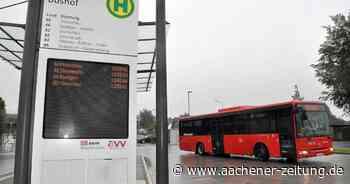 """Alles nur """"Luxus""""?: Simmerath bremst bei aufgewertetem Schnellbus - Aachener Zeitung"""