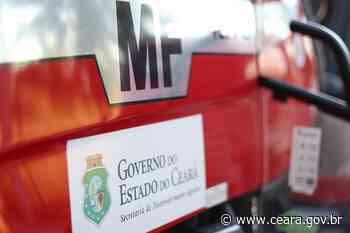 Trabalhadores rurais recebem projetos de mecanização agrícola em Porteiras e Mauriti - Ceará