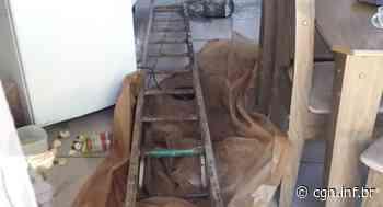 Idoso cai de escada durante manutenção em residência no Bairro Guarujá - CGN