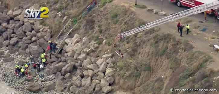 2 Women, 1 Man Dead After Being Swept Off Rocks Near Point Mugu