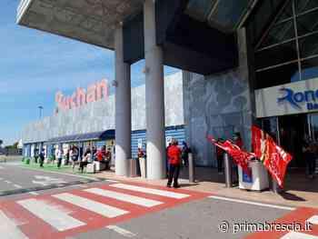 Auchan Roncadelle: nuovo sciopero dei lavoratori - Brescia Settegiorni