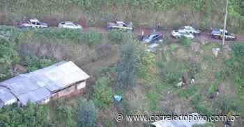Sítio usada como base logística de facção criminosa é localizado em Caxias do Sul - Jornal Correio do Povo