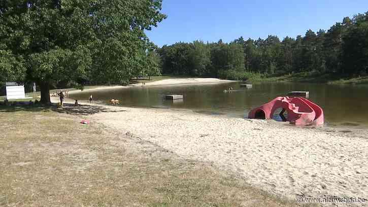 Verboden te zwemmen in zwemvijver Koersel Kapelleke
