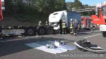 Ein Schwerverletzter nach Unfall auf der A1 bei Oyten - buten un binnen