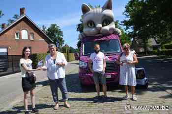 Kat op wielen van GAIA trekt al miauwend door Malle - Gazet van Antwerpen
