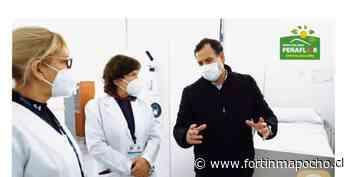 Diputado Coloma (udi) felicitó al alcalde de Peñaflor Nibaldo Meza y al empresario Leonardo Farkas por implementar Hospital de Campaña - www.fortinmapocho.cl