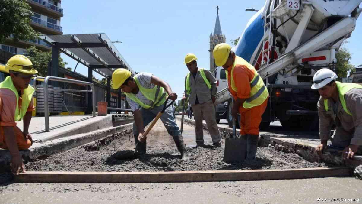Mejoras en la parada del transporte de Alberdi y Vélez Sarsfield - La Capital (Rosario)