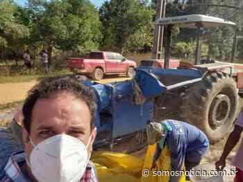 Diego Teixeira visita comunidade Lages, confere sucesso na agricultura e garante auxílio ao produtor rural - Somos Notícia