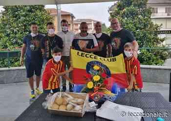 Sorpresa nel ritiro pre-Juve. I tifosi del Lecce Club di Oleggio incontrano la squadra - Leccezionale Salento