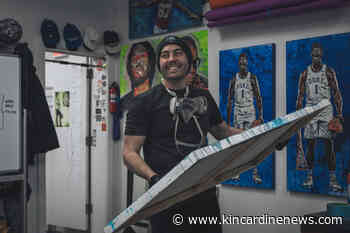 Topps Project 2020: Blake Jamieson's art helping drive baseball card phenomenon - Kincardine News