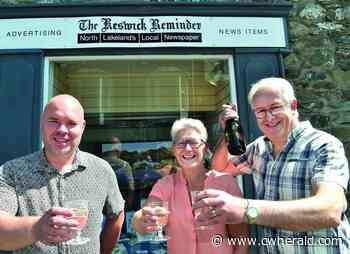 Herald gets new stablemate as page turns for Keswick Reminder - The Cumberland & Westmorland Herald